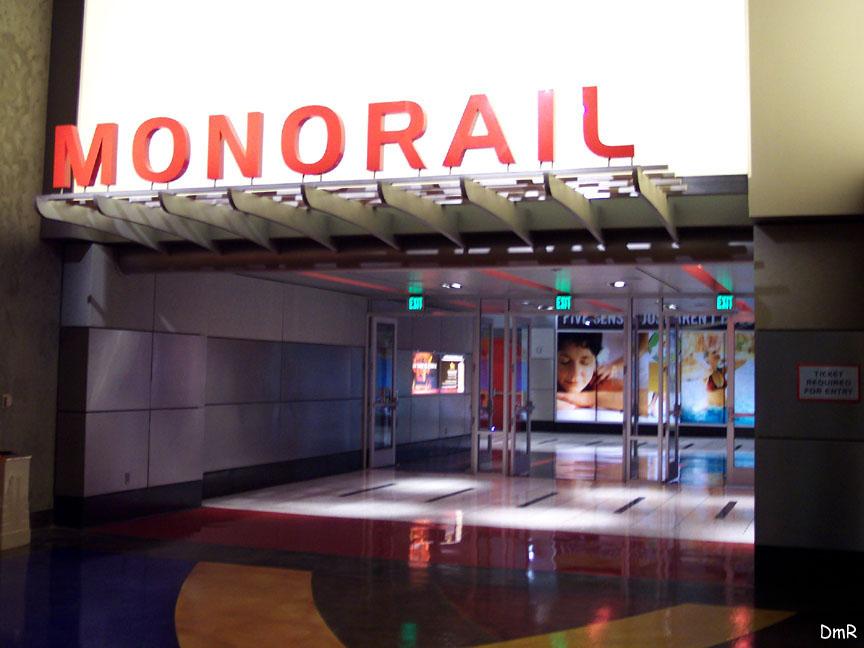 (92k, 864x648)<br><b>Country:</b> United States<br><b>City:</b> Las Vegas, NV<br><b>System:</b> Las Vegas Monorail<br><b>Location:</b> MGM Grand <br><b>Photo by:</b> D. Reinecke<br><b>Date:</b> 1/13/2005<br><b>Notes:</b> Station entrance<br><b>Viewed (this week/total):</b> 0 / 3244