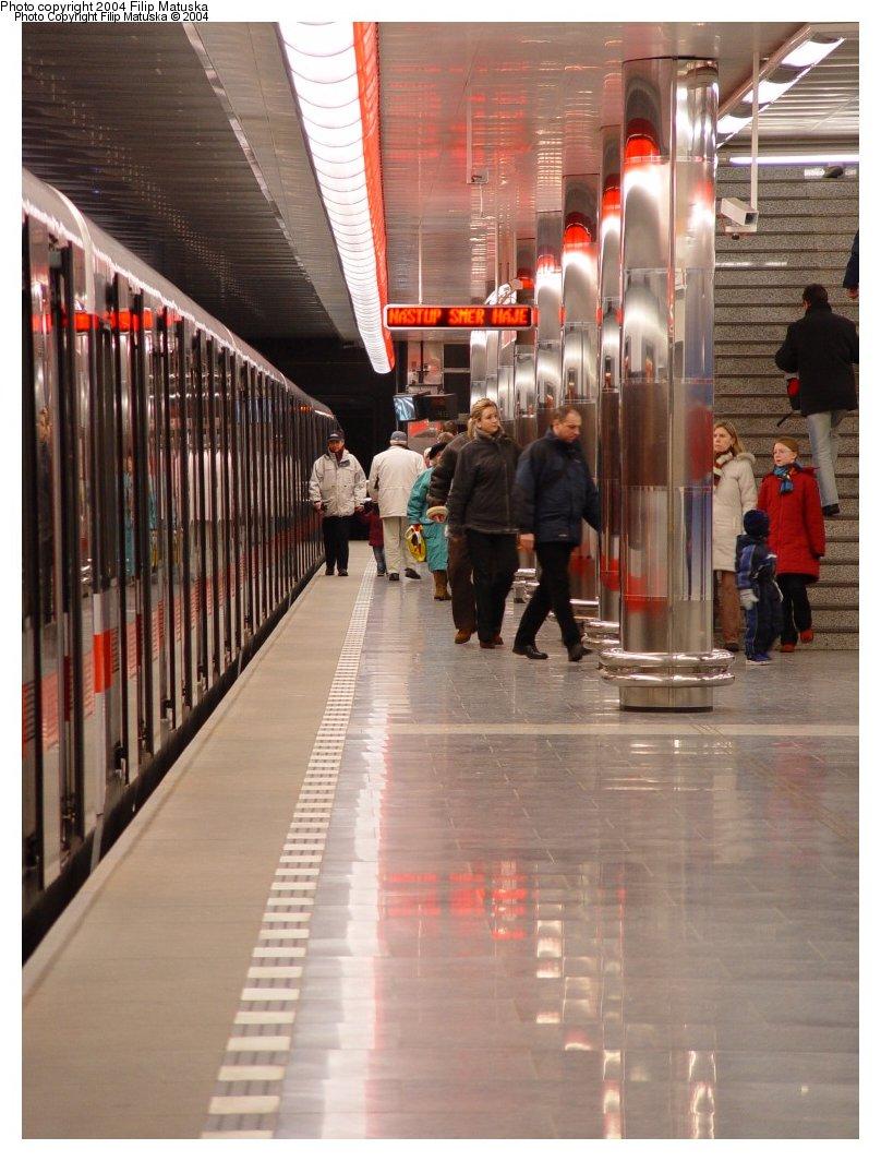 (163k, 808x1064)<br><b>Country:</b> Czech Republic<br><b>City:</b> Prague<br><b>System:</b> Dopravni podnik Prahy <br><b>Line:</b> Prague Metro-C<br><b>Location:</b> Ládví <br><b>Photo by:</b> Filip Matuska<br><b>Date:</b> 1/23/2005<br><b>Viewed (this week/total):</b> 1 / 1469