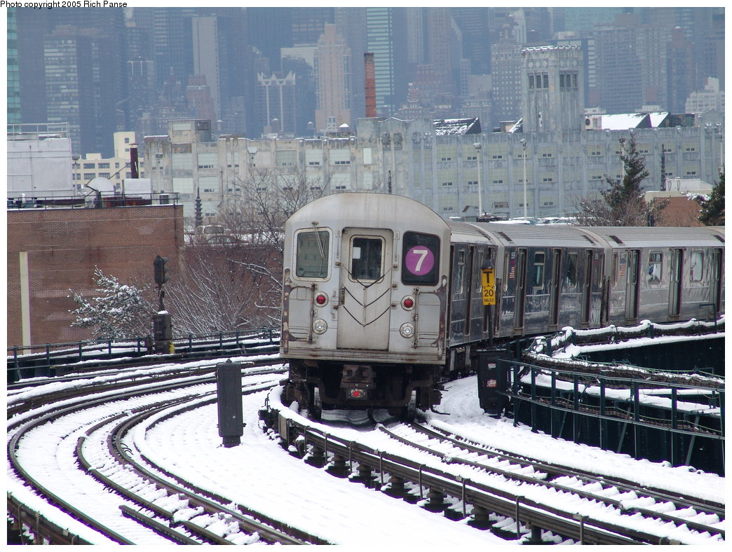 (249k, 1044x788)<br><b>Country:</b> United States<br><b>City:</b> New York<br><b>System:</b> New York City Transit<br><b>Line:</b> IRT Flushing Line<br><b>Location:</b> 33rd Street/Rawson Street <br><b>Route:</b> 7<br><b>Car:</b> R-62A (Bombardier, 1984-1987)  2145 <br><b>Photo by:</b> Richard Panse<br><b>Date:</b> 3/1/2005<br><b>Viewed (this week/total):</b> 1 / 2856