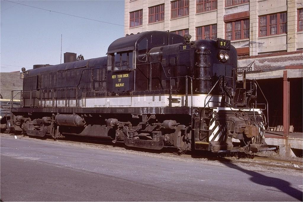 (255k, 1024x683)<br><b>Country:</b> United States<br><b>City:</b> New York<br><b>System:</b> New York City Transit<br><b>Line:</b> South Brooklyn Railway<br><b>Location:</b> SBK Yard (2nd Ave at 38th St.) (SBK)<br><b>Car:</b>  57 <br><b>Photo by:</b> Gerald H. Landau<br><b>Collection of:</b> Joe Testagrose<br><b>Viewed (this week/total):</b> 1 / 2591