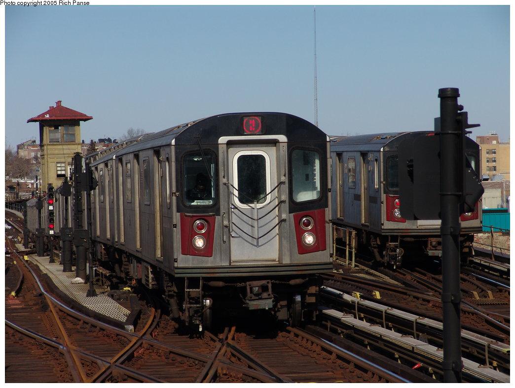 (173k, 1044x788)<br><b>Country:</b> United States<br><b>City:</b> New York<br><b>System:</b> New York City Transit<br><b>Line:</b> IRT White Plains Road Line<br><b>Location:</b> 238th Street (Nereid Avenue) <br><b>Route:</b> 2<br><b>Car:</b> R-142 (Primary Order, Bombardier, 1999-2002)  6441 <br><b>Photo by:</b> Richard Panse<br><b>Date:</b> 2/27/2005<br><b>Viewed (this week/total):</b> 0 / 4635