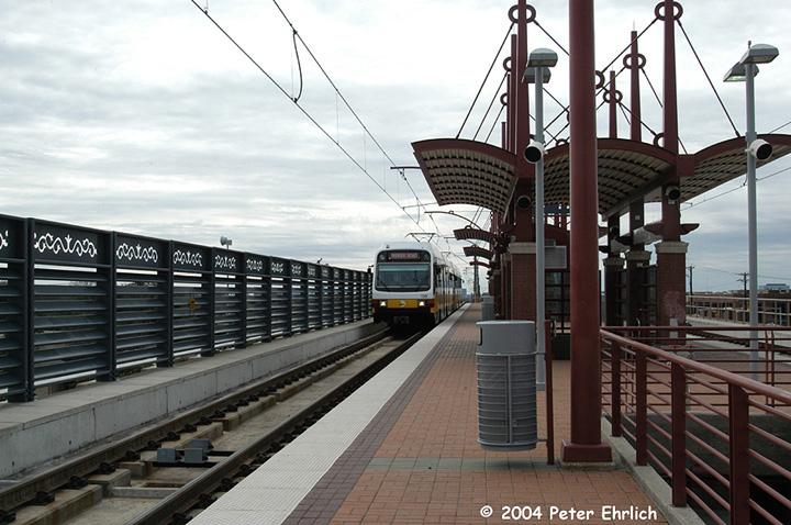 (155k, 720x478)<br><b>Country:</b> United States<br><b>City:</b> Dallas, TX<br><b>System:</b> DART<br><b>Line:</b> DART (Dallas) Red Line/Downtown Trunk<br><b>Location:</b> Spring Valley <br><b>Car:</b> DART 135/182 <br><b>Photo by:</b> Peter Ehrlich<br><b>Date:</b> 2/8/2004<br><b>Viewed (this week/total):</b> 0 / 1477