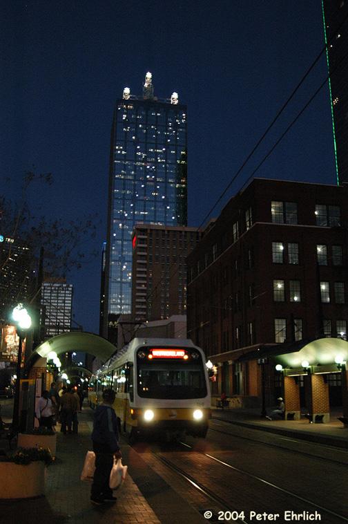 (174k, 504x758)<br><b>Country:</b> United States<br><b>City:</b> Dallas, TX<br><b>System:</b> DART<br><b>Line:</b> DART (Dallas) Red Line/Downtown Trunk<br><b>Location:</b> West End <br><b>Car:</b> DART 169 <br><b>Photo by:</b> Peter Ehrlich<br><b>Date:</b> 2/7/2004<br><b>Viewed (this week/total):</b> 1 / 1366
