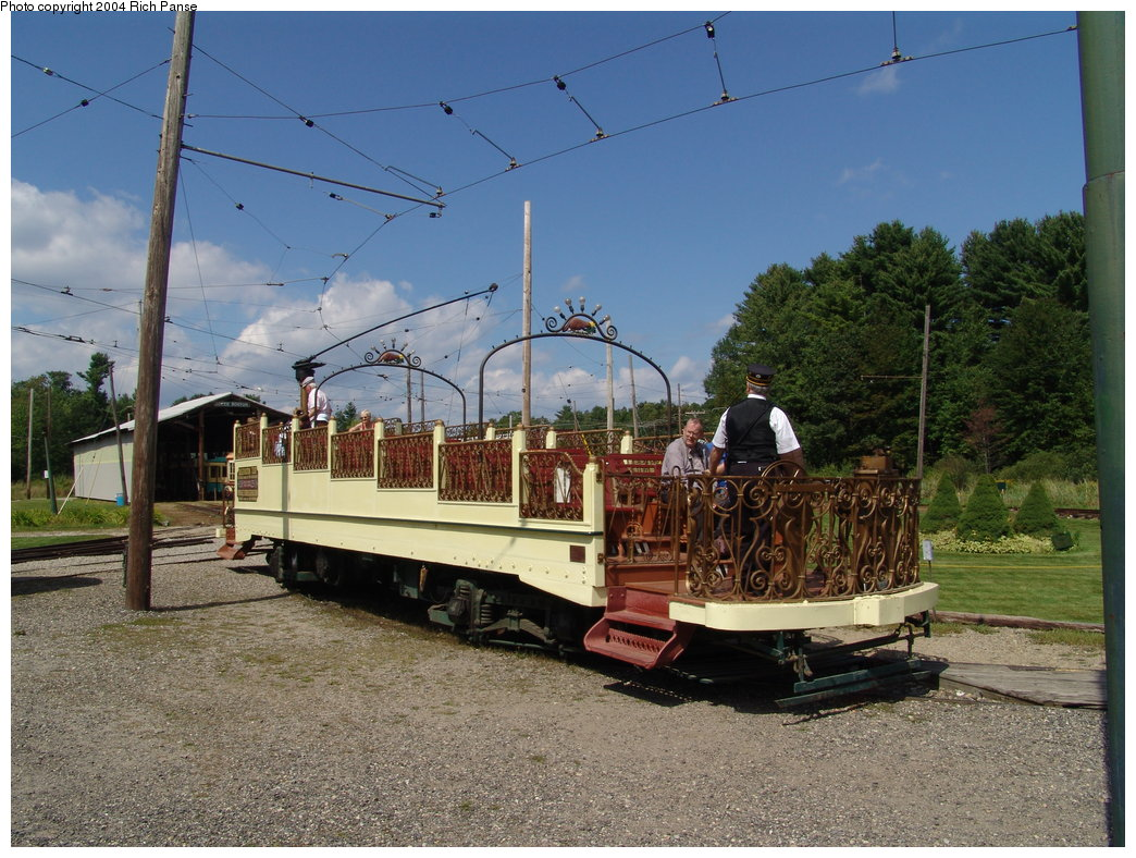 (226k, 1044x788)<br><b>Country:</b> United States<br><b>City:</b> Kennebunk, ME<br><b>System:</b> Seashore Trolley Museum <br><b>Car:</b> Montreal Tramways 2 <br><b>Photo by:</b> Richard Panse<br><b>Date:</b> 9/4/2004<br><b>Viewed (this week/total):</b> 0 / 1492