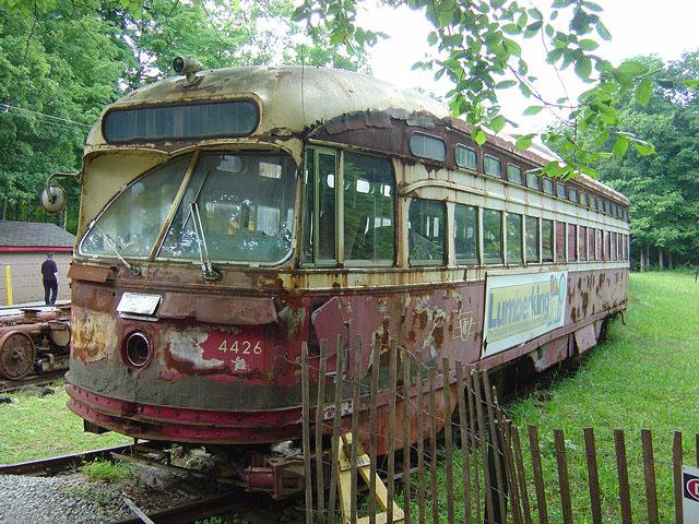 (156k, 640x480)<br><b>Country:</b> Canada<br><b>City:</b> Toronto<br><b>System:</b> Halton County Radial Railway <br><b>Car:</b> PCC (TTC Toronto) 4426 <br><b>Photo by:</b> Michael Tricarico<br><b>Date:</b> 8/16/2004<br><b>Viewed (this week/total):</b> 0 / 4636