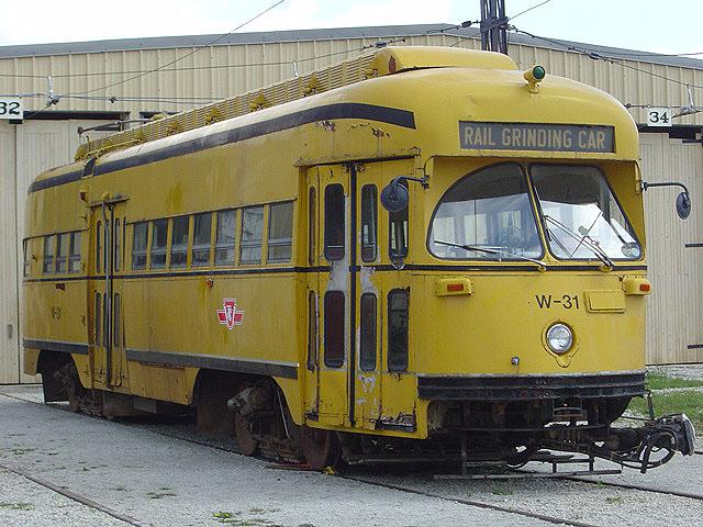 (127k, 640x480)<br><b>Country:</b> Canada<br><b>City:</b> Toronto<br><b>System:</b> Halton County Radial Railway <br><b>Car:</b> PCC (TTC Toronto) W-31 (ex-4668)<br><b>Photo by:</b> Michael Tricarico<br><b>Date:</b> 8/16/2004<br><b>Viewed (this week/total):</b> 1 / 3712