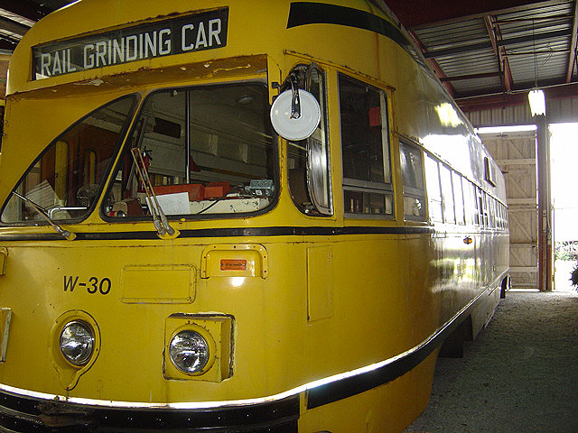 (128k, 640x480)<br><b>Country:</b> Canada<br><b>City:</b> Toronto<br><b>System:</b> Halton County Radial Railway <br><b>Car:</b> PCC (TTC Toronto) W-30 (ex-4631)<br><b>Photo by:</b> Michael Tricarico<br><b>Date:</b> 8/16/2004<br><b>Viewed (this week/total):</b> 1 / 2065