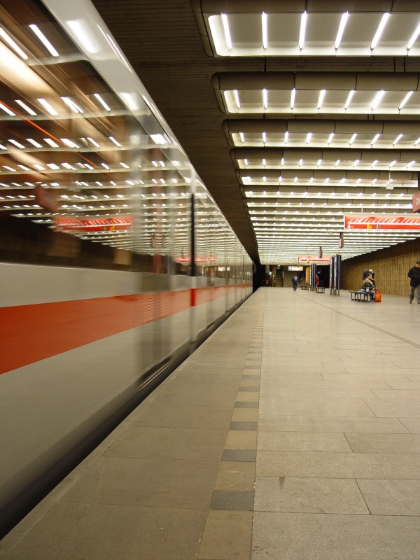 (122k, 600x800)<br><b>Country:</b> Czech Republic<br><b>City:</b> Prague<br><b>System:</b> Dopravni podnik Prahy <br><b>Line:</b> Prague Metro-C<br><b>Location:</b> Chodov (formerly Budovatelů) <br><b>Photo by:</b> Filip Matuska<br><b>Date:</b> 2/2005<br><b>Viewed (this week/total):</b> 0 / 1414