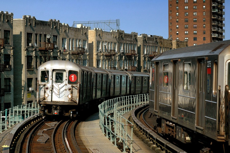 (205k, 900x598)<br><b>Country:</b> United States<br><b>City:</b> New York<br><b>System:</b> New York City Transit<br><b>Line:</b> IRT West Side Line<br><b>Location:</b> Dyckman Street <br><b>Route:</b> 1<br><b>Car:</b> R-62A (Bombardier, 1984-1987)  2275 <br><b>Photo by:</b> Fred Guenther<br><b>Date:</b> 3/19/2005<br><b>Viewed (this week/total):</b> 0 / 5082