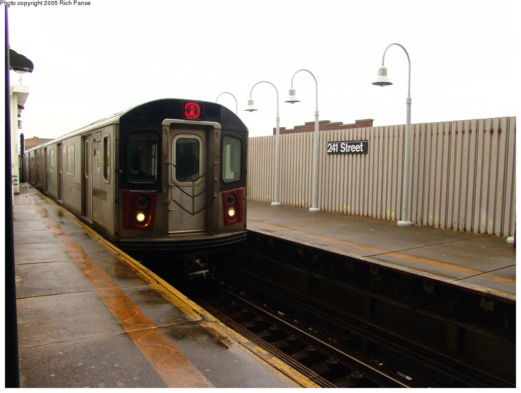 (155k, 1044x788)<br><b>Country:</b> United States<br><b>City:</b> New York<br><b>System:</b> New York City Transit<br><b>Line:</b> IRT White Plains Road Line<br><b>Location:</b> 241st Street <br><b>Route:</b> 2<br><b>Car:</b> R-142 (Primary Order, Bombardier, 1999-2002)  6336 <br><b>Photo by:</b> Richard Panse<br><b>Date:</b> 3/20/2005<br><b>Viewed (this week/total):</b> 11 / 6161