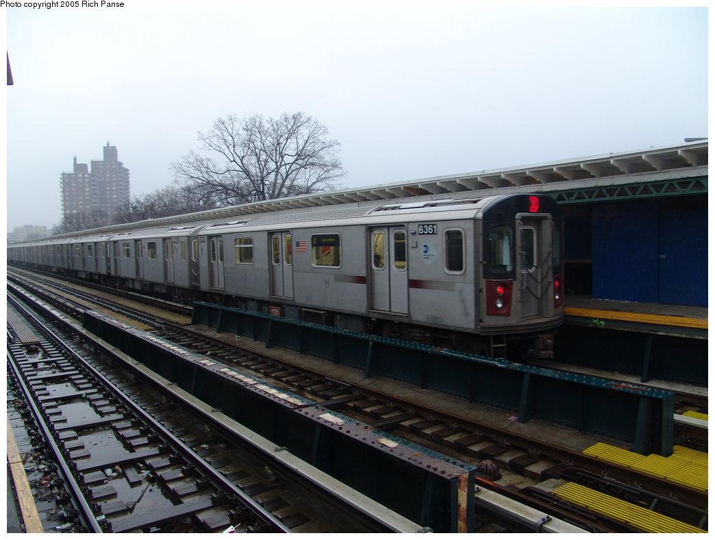 (167k, 1044x788)<br><b>Country:</b> United States<br><b>City:</b> New York<br><b>System:</b> New York City Transit<br><b>Line:</b> IRT White Plains Road Line<br><b>Location:</b> Pelham Parkway <br><b>Route:</b> 2<br><b>Car:</b> R-142 (Primary Order, Bombardier, 1999-2002)  6351 <br><b>Photo by:</b> Richard Panse<br><b>Date:</b> 3/20/2005<br><b>Viewed (this week/total):</b> 1 / 4276