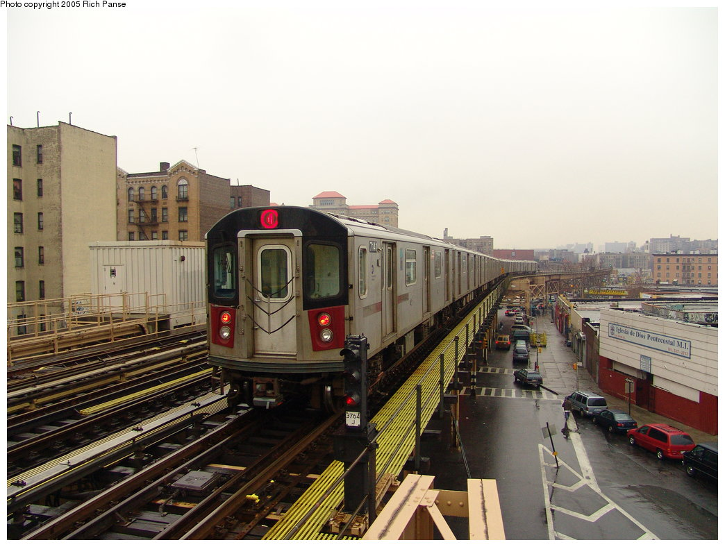 (187k, 1044x788)<br><b>Country:</b> United States<br><b>City:</b> New York<br><b>System:</b> New York City Transit<br><b>Line:</b> IRT Woodlawn Line<br><b>Location:</b> 170th Street <br><b>Route:</b> 4<br><b>Car:</b> R-142 (Option Order, Bombardier, 2002-2003)  7141 <br><b>Photo by:</b> Richard Panse<br><b>Date:</b> 3/20/2005<br><b>Viewed (this week/total):</b> 0 / 4210