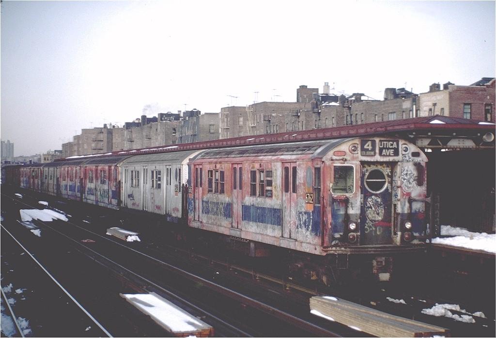 (168k, 1024x698)<br><b>Country:</b> United States<br><b>City:</b> New York<br><b>System:</b> New York City Transit<br><b>Line:</b> IRT Woodlawn Line<br><b>Location:</b> 170th Street <br><b>Route:</b> 4<br><b>Car:</b> R-17 (St. Louis, 1955-56) 6762 <br><b>Photo by:</b> Steve Zabel<br><b>Collection of:</b> Joe Testagrose<br><b>Date:</b> 2/13/1983<br><b>Viewed (this week/total):</b> 2 / 4792