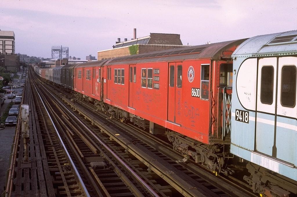 (232k, 1024x679)<br><b>Country:</b> United States<br><b>City:</b> New York<br><b>System:</b> New York City Transit<br><b>Line:</b> IRT West Side Line<br><b>Location:</b> 207th Street <br><b>Car:</b> R-29 (St. Louis, 1962) 8600 <br><b>Photo by:</b> Steve Zabel<br><b>Collection of:</b> Joe Testagrose<br><b>Date:</b> 7/12/1972<br><b>Viewed (this week/total):</b> 3 / 2526