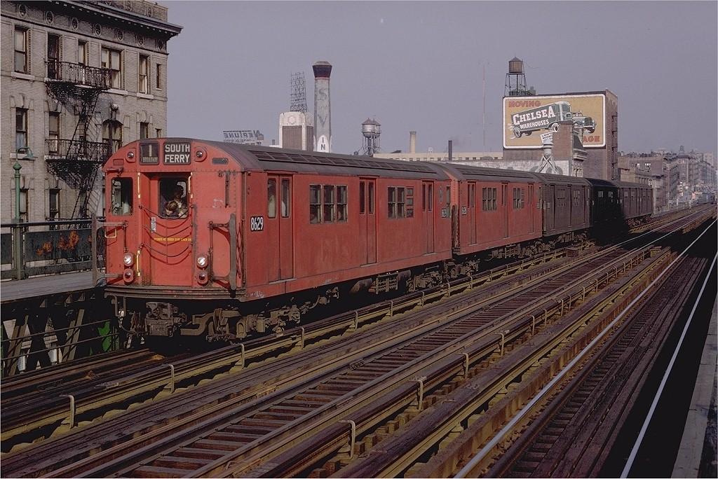 (254k, 1024x684)<br><b>Country:</b> United States<br><b>City:</b> New York<br><b>System:</b> New York City Transit<br><b>Line:</b> IRT West Side Line<br><b>Location:</b> 125th Street <br><b>Route:</b> 1<br><b>Car:</b> R-29 (St. Louis, 1962) 8629 <br><b>Photo by:</b> Doug Grotjahn<br><b>Collection of:</b> Joe Testagrose<br><b>Date:</b> 12/1/1968<br><b>Viewed (this week/total):</b> 0 / 3240