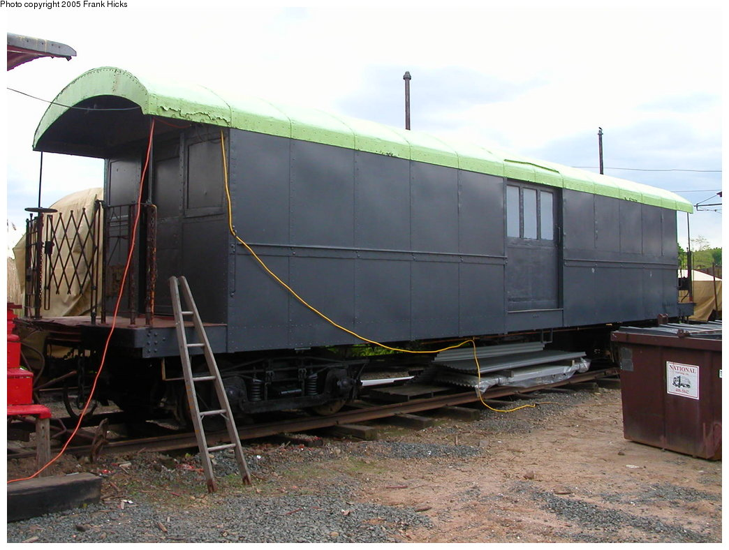 (192k, 1044x788)<br><b>Country:</b> United States<br><b>City:</b> East Haven/Branford, Ct.<br><b>System:</b> Shore Line Trolley Museum <br><b>Car:</b> IRT Supply Car (Pressed Steel, 1906)  53 (ex-30127)<br><b>Photo by:</b> Frank Hicks<br><b>Date:</b> 5/21/2005<br><b>Viewed (this week/total):</b> 0 / 2390
