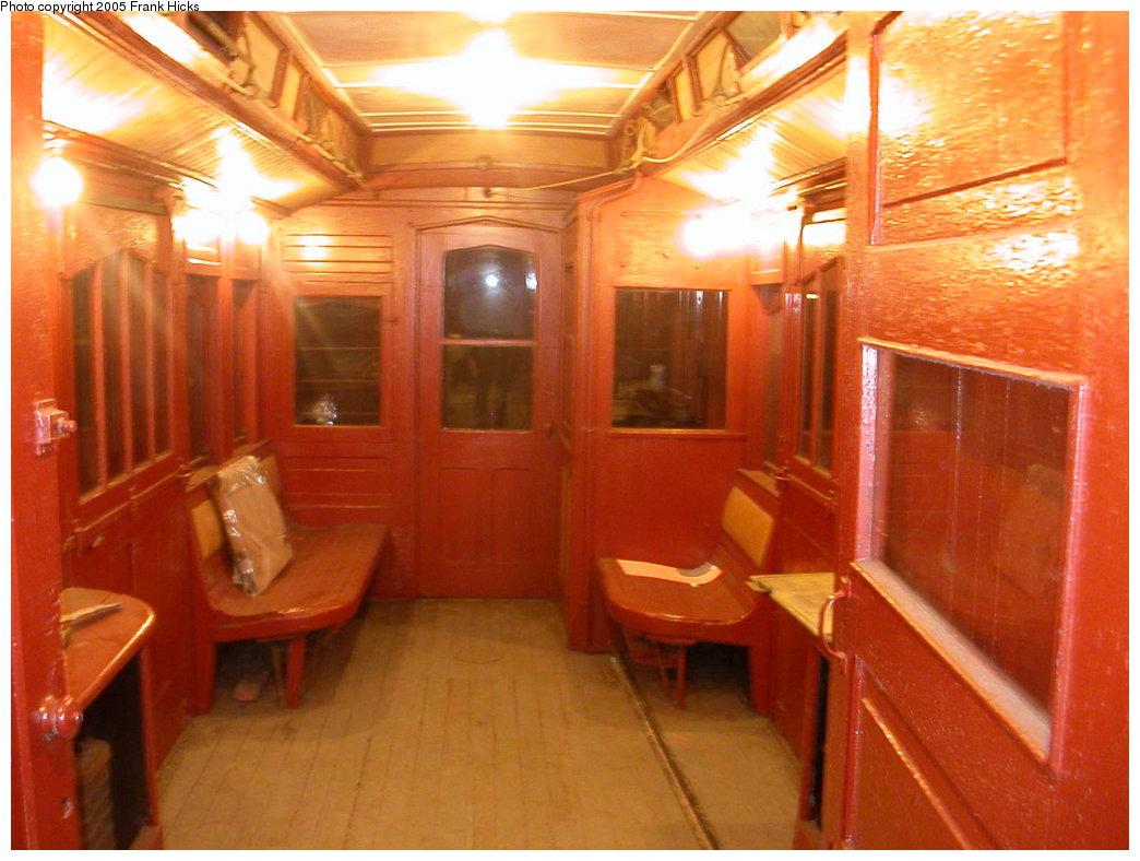 (199k, 1044x788)<br><b>Country:</b> United States<br><b>City:</b> East Haven/Branford, Ct.<br><b>System:</b> Shore Line Trolley Museum <br><b>Car:</b> Money Car G <br><b>Photo by:</b> Frank Hicks<br><b>Date:</b> 5/21/2005<br><b>Viewed (this week/total):</b> 3 / 3875