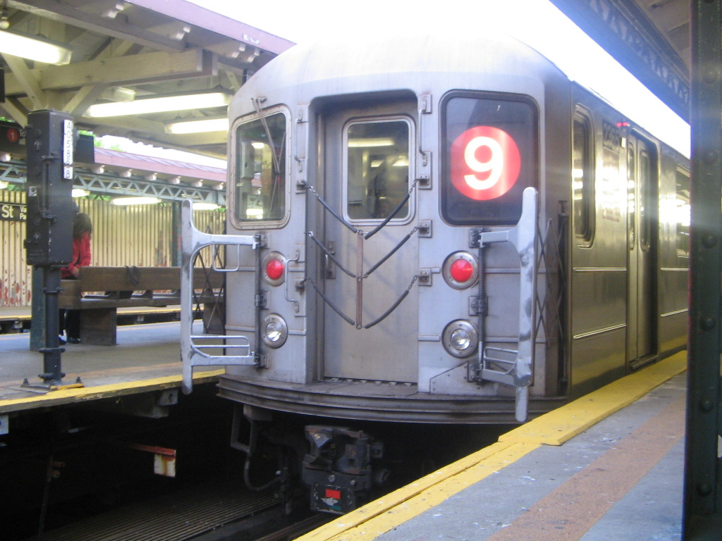 (229k, 1024x768)<br><b>Country:</b> United States<br><b>City:</b> New York<br><b>System:</b> New York City Transit<br><b>Line:</b> IRT West Side Line<br><b>Location:</b> 242nd Street/Van Cortlandt Park <br><b>Route:</b> 9<br><b>Car:</b> R-62A (Bombardier, 1984-1987)  2365 <br><b>Photo by:</b> Jose Martinez<br><b>Date:</b> 5/27/2005<br><b>Notes:</b> Last #9 train on the last day of the skip-stop #9 service.<br><b>Viewed (this week/total):</b> 1 / 7142