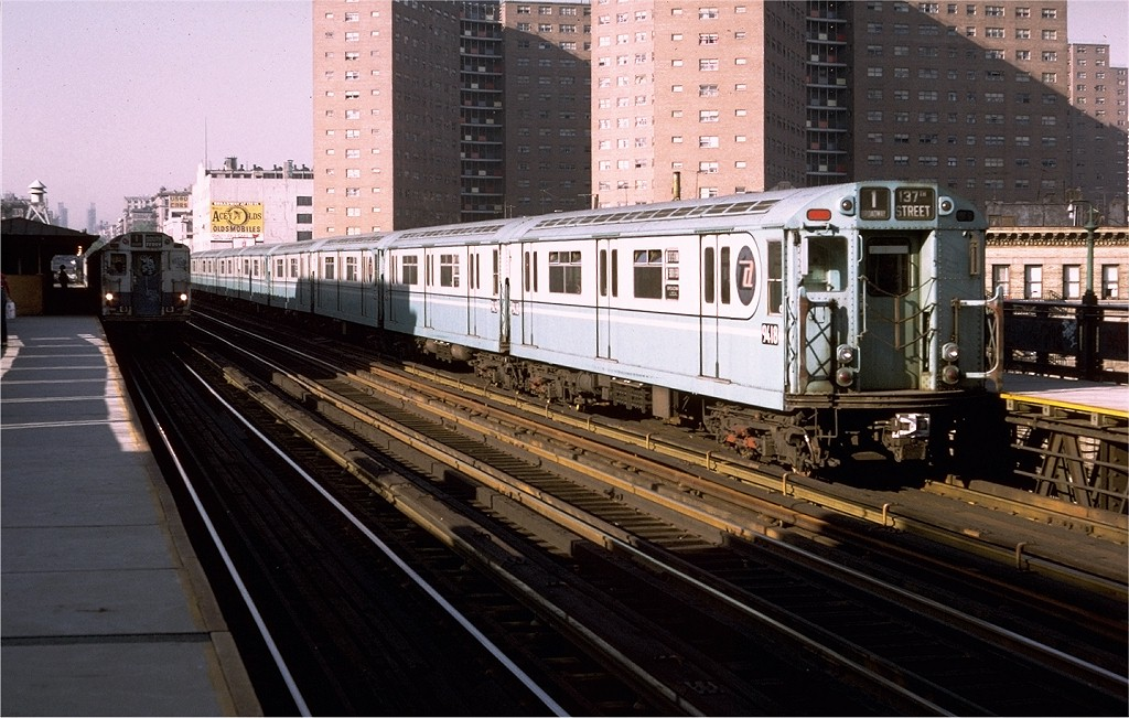 (208k, 1024x651)<br><b>Country:</b> United States<br><b>City:</b> New York<br><b>System:</b> New York City Transit<br><b>Line:</b> IRT West Side Line<br><b>Location:</b> 125th Street <br><b>Route:</b> 1<br><b>Car:</b> R-36 World's Fair (St. Louis, 1963-64) 9418 <br><b>Photo by:</b> Doug Grotjahn<br><b>Collection of:</b> Joe Testagrose<br><b>Date:</b> 5/24/1974<br><b>Viewed (this week/total):</b> 3 / 3085