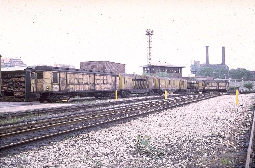 (271k, 1024x676)<br><b>Country:</b> United States<br><b>City:</b> New York<br><b>System:</b> New York City Transit<br><b>Location:</b> 207th Street Yard<br><b>Car:</b> Low-V Worlds Fair  <br><b>Photo by:</b> Steve Zabel<br><b>Collection of:</b> Joe Testagrose<br><b>Date:</b> 5/25/1973<br><b>Viewed (this week/total):</b> 0 / 2417