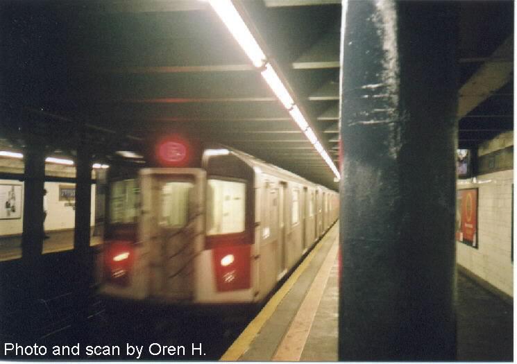 (52k, 745x525)<br><b>Country:</b> United States<br><b>City:</b> New York<br><b>System:</b> New York City Transit<br><b>Line:</b> IRT East Side Line<br><b>Location:</b> 77th Street <br><b>Route:</b> 6<br><b>Car:</b> R-142 or R-142A (Number Unknown)  <br><b>Photo by:</b> Oren H.<br><b>Date:</b> 9/30/2001<br><b>Viewed (this week/total):</b> 0 / 4570