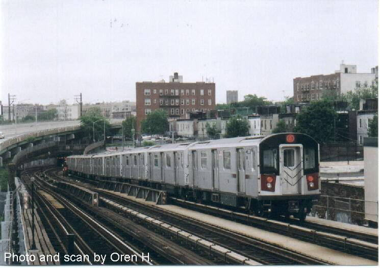(65k, 745x525)<br><b>Country:</b> United States<br><b>City:</b> New York<br><b>System:</b> New York City Transit<br><b>Line:</b> IRT Pelham Line<br><b>Location:</b> Whitlock Avenue <br><b>Route:</b> 6<br><b>Car:</b> R-142A (Primary Order, Kawasaki, 1999-2002)  7591 <br><b>Photo by:</b> Oren H.<br><b>Date:</b> 5/26/2002<br><b>Viewed (this week/total):</b> 1 / 4332