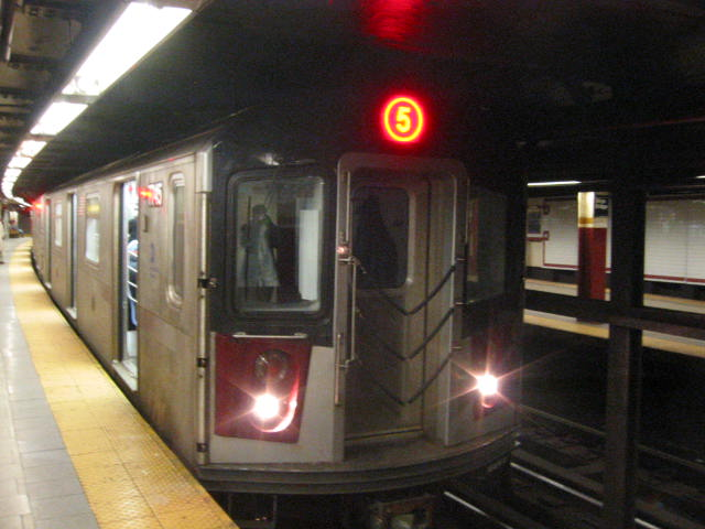 (54k, 640x480)<br><b>Country:</b> United States<br><b>City:</b> New York<br><b>System:</b> New York City Transit<br><b>Line:</b> IRT East Side Line<br><b>Location:</b> Brooklyn Bridge/City Hall<br><b>Route:</b> 6<br><b>Car:</b> R-142A (Supplemental Order, Kawasaki, 2003-2004) 7745 <br><b>Photo by:</b> Oren H.<br><b>Date:</b> 3/5/2005<br><b>Viewed (this week/total):</b> 2 / 6920