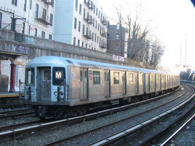 (132k, 640x480)<br><b>Country:</b> United States<br><b>City:</b> New York<br><b>System:</b> New York City Transit<br><b>Line:</b> BMT Brighton Line<br><b>Location:</b> Parkside Avenue <br><b>Route:</b> M<br><b>Car:</b> R-42 (St. Louis, 1969-1970)  4741 <br><b>Photo by:</b> Oren H.<br><b>Date:</b> 3/5/2005<br><b>Notes:</b> Construction shuttle service.<br><b>Viewed (this week/total):</b> 0 / 3524