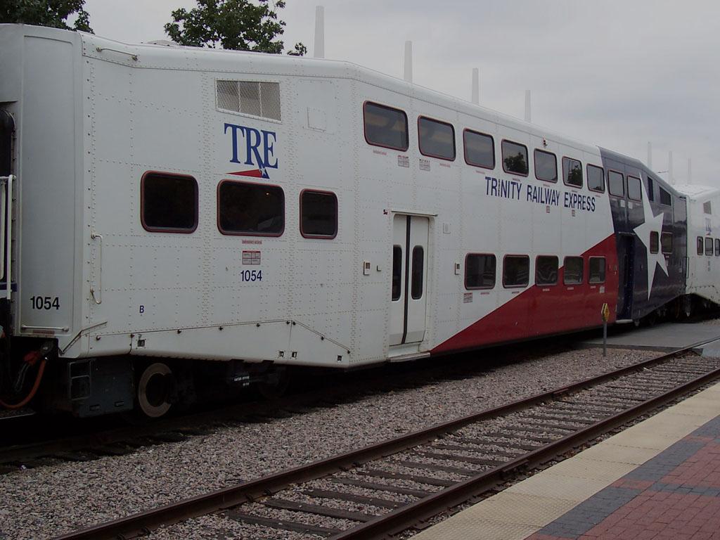 (169k, 1024x768)<br><b>Country:</b> United States<br><b>City:</b> Dallas, TX<br><b>System:</b> Trinity Railway Express<br><b>Location:</b> Union Station <br><b>Car:</b>  1054 <br><b>Photo by:</b> Adam Moreira<br><b>Date:</b> 11/12/2004<br><b>Viewed (this week/total):</b> 2 / 2208