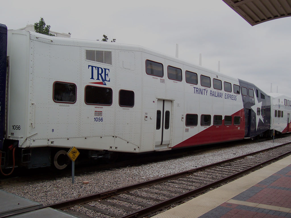 (156k, 1024x768)<br><b>Country:</b> United States<br><b>City:</b> Dallas, TX<br><b>System:</b> Trinity Railway Express<br><b>Location:</b> Union Station <br><b>Car:</b>  1056 <br><b>Photo by:</b> Adam Moreira<br><b>Date:</b> 11/12/2004<br><b>Viewed (this week/total):</b> 2 / 2389