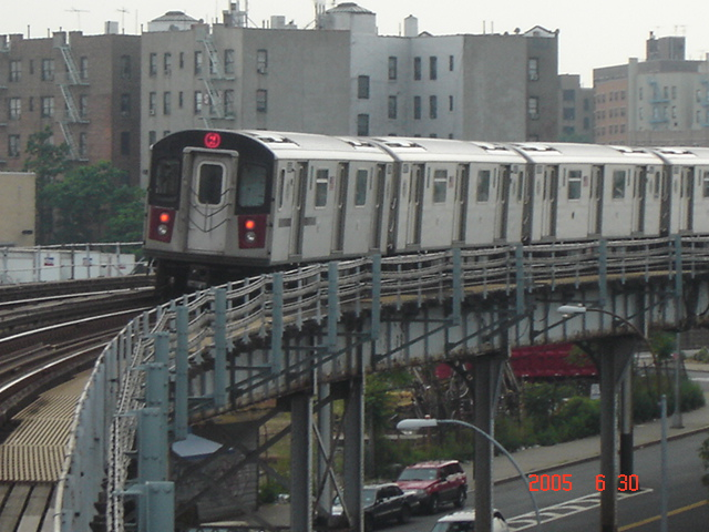 (153k, 640x480)<br><b>Country:</b> United States<br><b>City:</b> New York<br><b>System:</b> New York City Transit<br><b>Line:</b> IRT White Plains Road Line<br><b>Location:</b> West Farms Sq./East Tremont Ave./177th St. <br><b>Route:</b> 2<br><b>Car:</b> R-142 or R-142A (Number Unknown)  <br><b>Photo by:</b> DeAndre Burrell<br><b>Date:</b> 6/30/2005<br><b>Viewed (this week/total):</b> 0 / 4235