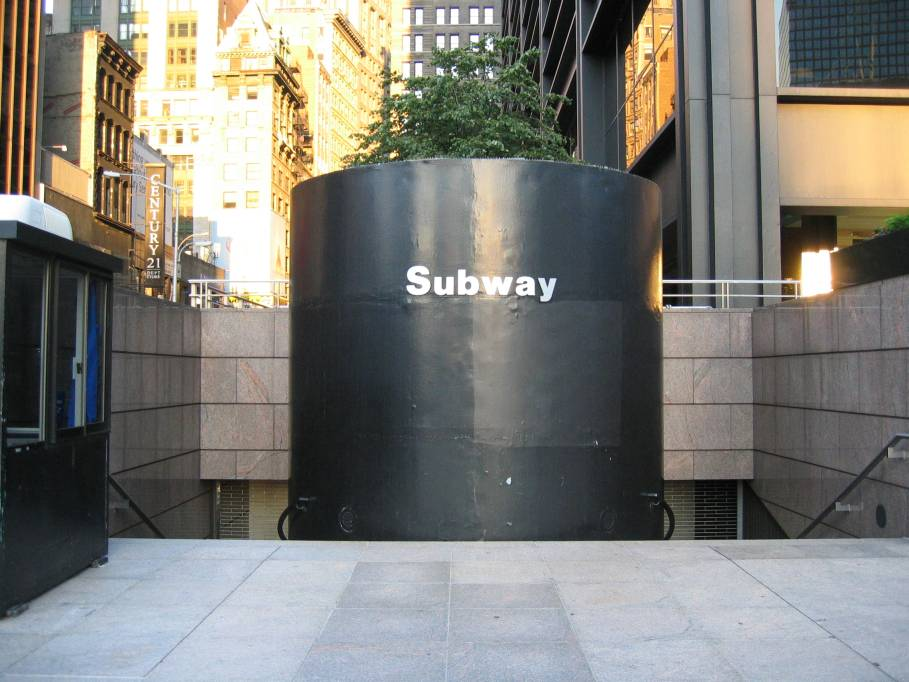 (86k, 909x682)<br><b>Country:</b> United States<br><b>City:</b> New York<br><b>System:</b> New York City Transit<br><b>Line:</b> BMT Broadway Line<br><b>Location:</b> Cortlandt Street-World Trade Center <br><b>Photo by:</b> Robbie Rosenfeld<br><b>Date:</b> 7/10/2005<br><b>Notes:</b> Station entrance SE corner Cortlandt & Church.<br><b>Viewed (this week/total):</b> 3 / 6394