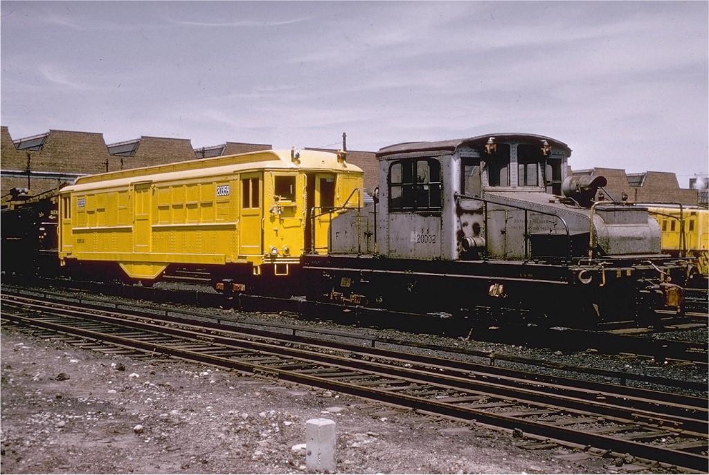 (243k, 1024x687)<br><b>Country:</b> United States<br><b>City:</b> New York<br><b>System:</b> New York City Transit<br><b>Location:</b> Coney Island Yard<br><b>Car:</b> SBK Steeplecab 5 <br><b>Photo by:</b> Gerald H. Landau<br><b>Collection of:</b> Joe Testagrose<br><b>Date:</b> 5/1966<br><b>Viewed (this week/total):</b> 4 / 2874