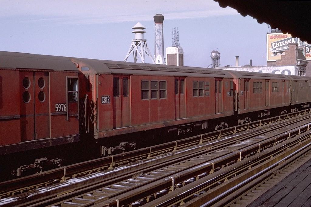 (217k, 1024x684)<br><b>Country:</b> United States<br><b>City:</b> New York<br><b>System:</b> New York City Transit<br><b>Line:</b> IRT West Side Line<br><b>Location:</b> 125th Street <br><b>Route:</b> 1<br><b>Car:</b> R-36 Main Line (St. Louis, 1964) CB12 (ex-9532)<br><b>Photo by:</b> Joe Testagrose<br><b>Date:</b> 1/11/1970<br><b>Viewed (this week/total):</b> 0 / 3010