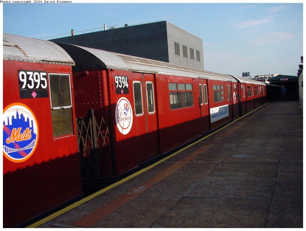 (107k, 1044x788)<br><b>Country:</b> United States<br><b>City:</b> New York<br><b>System:</b> New York City Transit<br><b>Line:</b> IRT Flushing Line<br><b>Location:</b> Court House Square/45th Road <br><b>Route:</b> 7<br><b>Car:</b> R-36 World's Fair (St. Louis, 1963-64) 9394 <br><b>Photo by:</b> David Pirmann<br><b>Date:</b> 7/16/2001<br><b>Viewed (this week/total):</b> 3 / 6249