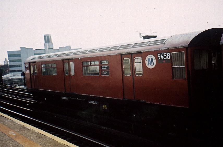 (54k, 855x566)<br><b>Country:</b> United States<br><b>City:</b> New York<br><b>System:</b> New York City Transit<br><b>Line:</b> IRT Flushing Line<br><b>Location:</b> Court House Square/45th Road<br><b>Route:</b> 7<br><b>Car:</b> R-36 World's Fair (St. Louis, 1963-64) 9458 <br><b>Photo by:</b> Gary Chatterton<br><b>Date:</b> 2002<br><b>Viewed (this week/total):</b> 1 / 4034