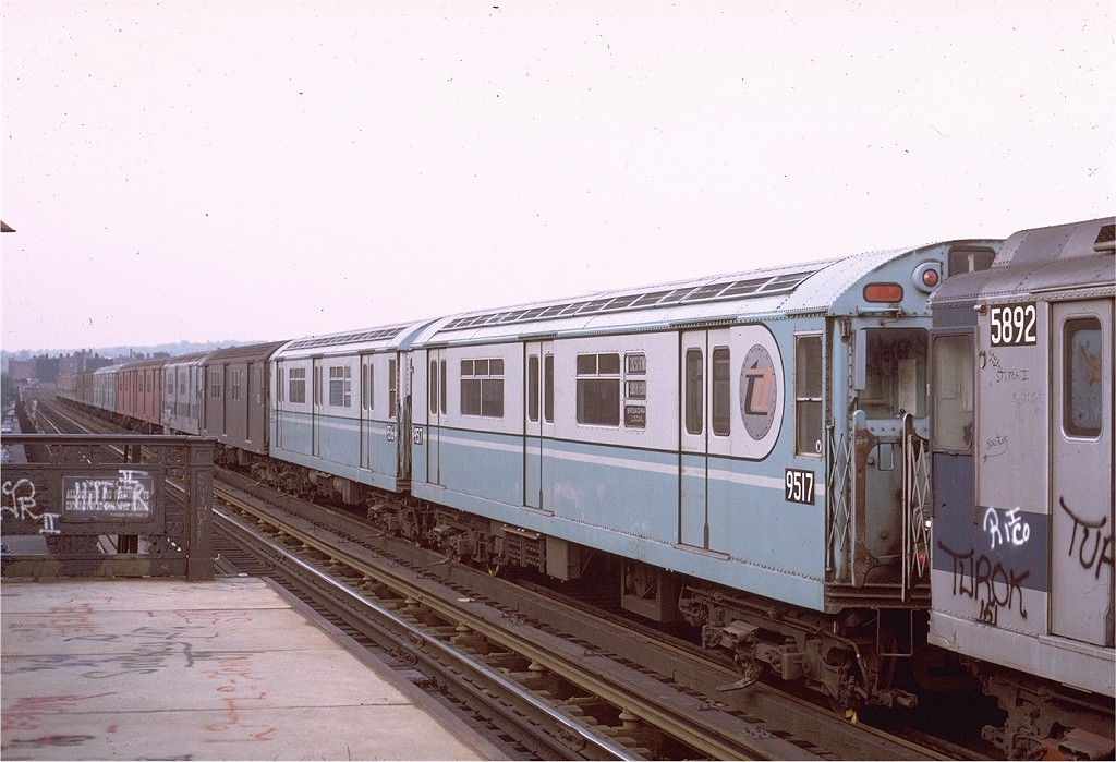(184k, 1024x699)<br><b>Country:</b> United States<br><b>City:</b> New York<br><b>System:</b> New York City Transit<br><b>Line:</b> IRT West Side Line<br><b>Location:</b> 231st Street <br><b>Route:</b> 1<br><b>Car:</b> R-36 World's Fair (St. Louis, 1963-64) 9517 <br><b>Collection of:</b> Joe Testagrose<br><b>Date:</b> 5/18/1972<br><b>Viewed (this week/total):</b> 1 / 3740