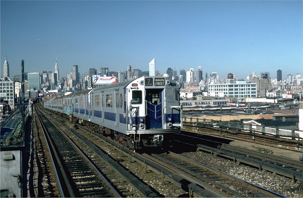 (235k, 1024x669)<br><b>Country:</b> United States<br><b>City:</b> New York<br><b>System:</b> New York City Transit<br><b>Line:</b> IRT Flushing Line<br><b>Location:</b> 40th Street/Lowery Street <br><b>Route:</b> 7<br><b>Car:</b> R-36 World's Fair (St. Louis, 1963-64) 9679 <br><b>Collection of:</b> Joe Testagrose<br><b>Date:</b> 11/3/1981<br><b>Viewed (this week/total):</b> 3 / 5465