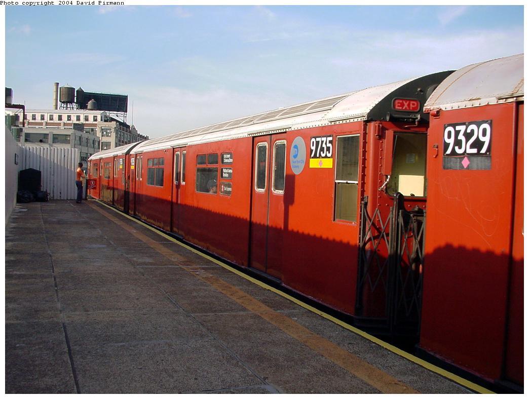 (116k, 1044x788)<br><b>Country:</b> United States<br><b>City:</b> New York<br><b>System:</b> New York City Transit<br><b>Line:</b> IRT Flushing Line<br><b>Location:</b> Court House Square/45th Road <br><b>Route:</b> 7<br><b>Car:</b> R-36 World's Fair (St. Louis, 1963-64) 9735 <br><b>Photo by:</b> David Pirmann<br><b>Date:</b> 7/16/2001<br><b>Viewed (this week/total):</b> 2 / 3665