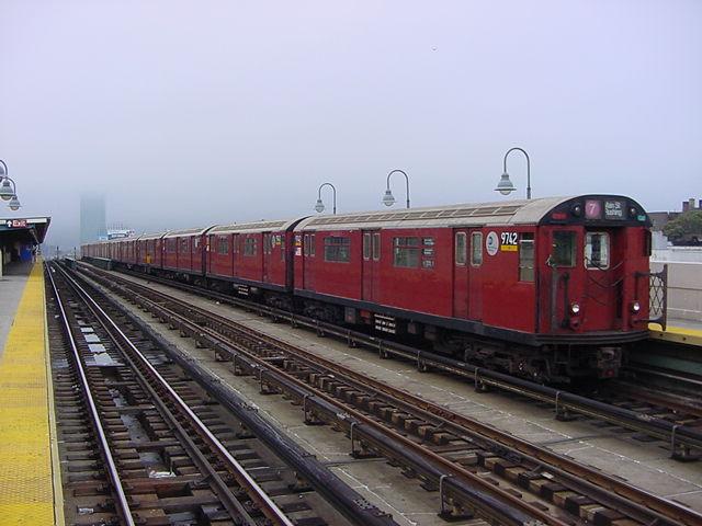 (59k, 640x480)<br><b>Country:</b> United States<br><b>City:</b> New York<br><b>System:</b> New York City Transit<br><b>Line:</b> IRT Flushing Line<br><b>Location:</b> 40th Street/Lowery Street <br><b>Route:</b> 7<br><b>Car:</b> R-36 World's Fair (St. Louis, 1963-64) 9742 <br><b>Photo by:</b> Salaam Allah<br><b>Date:</b> 9/27/2002<br><b>Viewed (this week/total):</b> 2 / 2574
