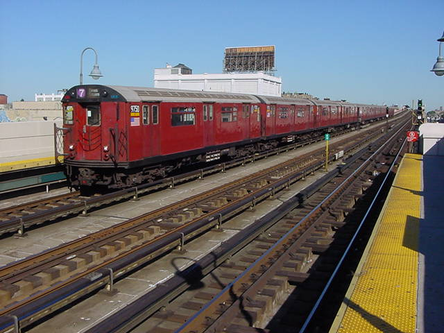 (60k, 640x480)<br><b>Country:</b> United States<br><b>City:</b> New York<br><b>System:</b> New York City Transit<br><b>Line:</b> IRT Flushing Line<br><b>Location:</b> 33rd Street/Rawson Street <br><b>Car:</b> R-36 World's Fair (St. Louis, 1963-64) 9750 <br><b>Photo by:</b> Salaam Allah<br><b>Date:</b> 9/17/2002<br><b>Viewed (this week/total):</b> 0 / 2701