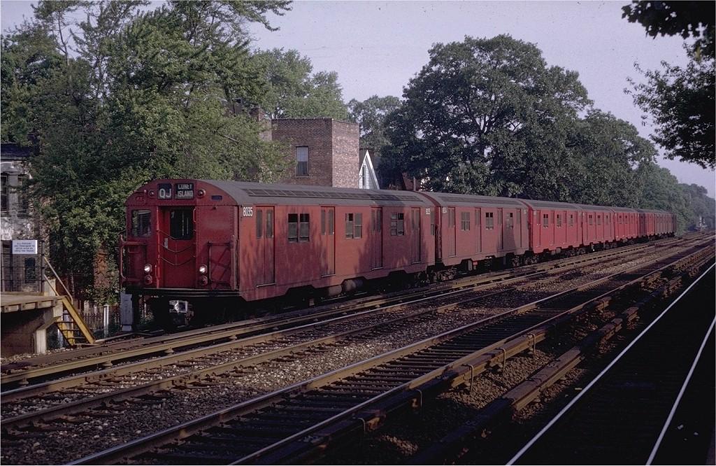 (275k, 1024x666)<br><b>Country:</b> United States<br><b>City:</b> New York<br><b>System:</b> New York City Transit<br><b>Line:</b> BMT Brighton Line<br><b>Location:</b> Avenue J <br><b>Route:</b> QJ<br><b>Car:</b> R-27 (St. Louis, 1960)  8035 <br><b>Photo by:</b> Joe Testagrose<br><b>Date:</b> 5/29/1969<br><b>Viewed (this week/total):</b> 1 / 3546