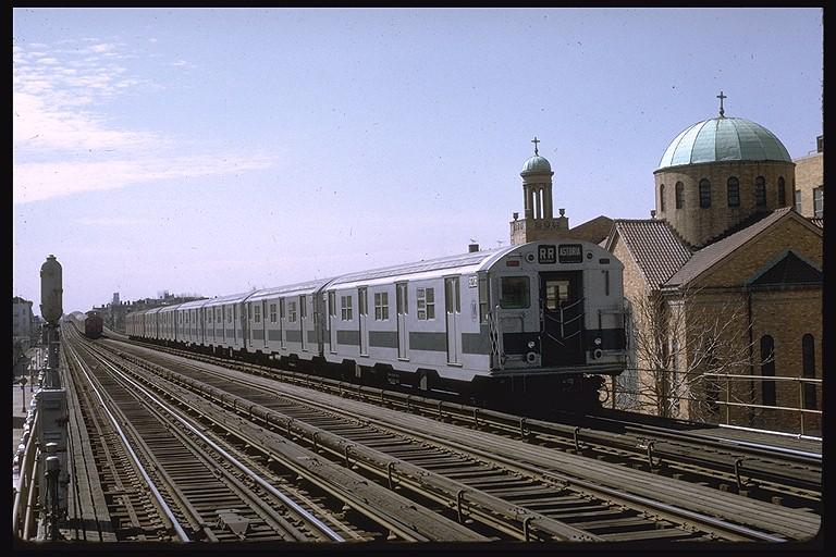 (133k, 768x512)<br><b>Country:</b> United States<br><b>City:</b> New York<br><b>System:</b> New York City Transit<br><b>Line:</b> BMT Astoria Line<br><b>Location:</b> 30th/Grand Aves. <br><b>Route:</b> RR<br><b>Car:</b> R-30 (St. Louis, 1961) 8268 <br><b>Photo by:</b> Joe Testagrose<br><b>Date:</b> 3/28/1971<br><b>Viewed (this week/total):</b> 0 / 3845
