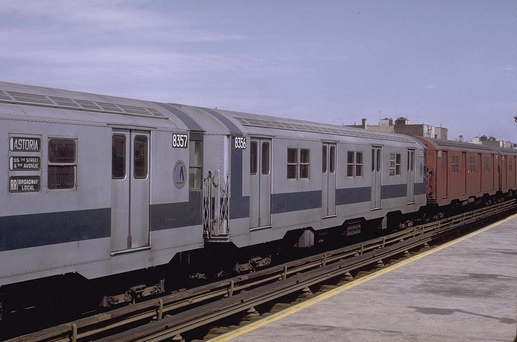 (192k, 1024x678)<br><b>Country:</b> United States<br><b>City:</b> New York<br><b>System:</b> New York City Transit<br><b>Line:</b> BMT Astoria Line<br><b>Location:</b> 36th/Washington Aves. <br><b>Route:</b> RR<br><b>Car:</b> R-30 (St. Louis, 1961) 8356 <br><b>Photo by:</b> Joe Testagrose<br><b>Date:</b> 3/28/1971<br><b>Viewed (this week/total):</b> 0 / 2988