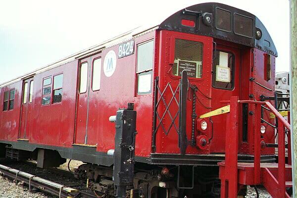 (123k, 600x400)<br><b>Country:</b> United States<br><b>City:</b> New York<br><b>System:</b> New York City Transit<br><b>Location:</b> Coney Island Yard-Training Facilities<br><b>Car:</b> R-30 (St. Louis, 1961) 8424 <br><b>Photo by:</b> Sidney Keyles<br><b>Date:</b> 5/22/1999<br><b>Viewed (this week/total):</b> 4 / 8120