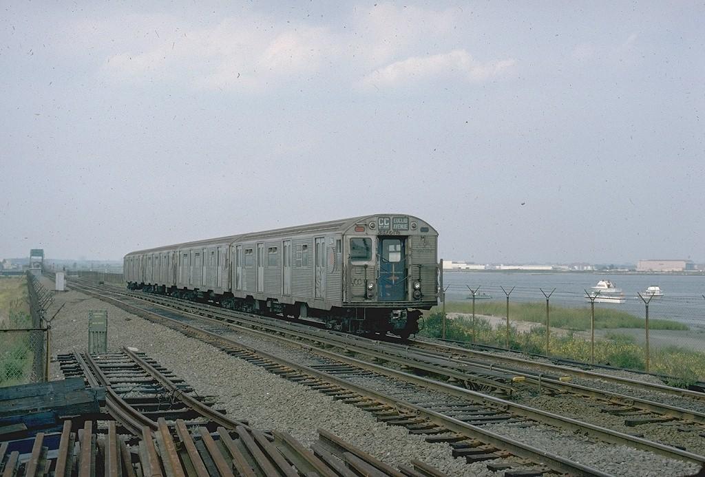 (219k, 1024x693)<br><b>Country:</b> United States<br><b>City:</b> New York<br><b>System:</b> New York City Transit<br><b>Line:</b> IND Rockaway<br><b>Location:</b> Jamaica Bay Crossing<br><b>Route:</b> CC<br><b>Car:</b> R-32 (Budd, 1964)  3394 <br><b>Collection of:</b> Joe Testagrose<br><b>Viewed (this week/total):</b> 1 / 3694