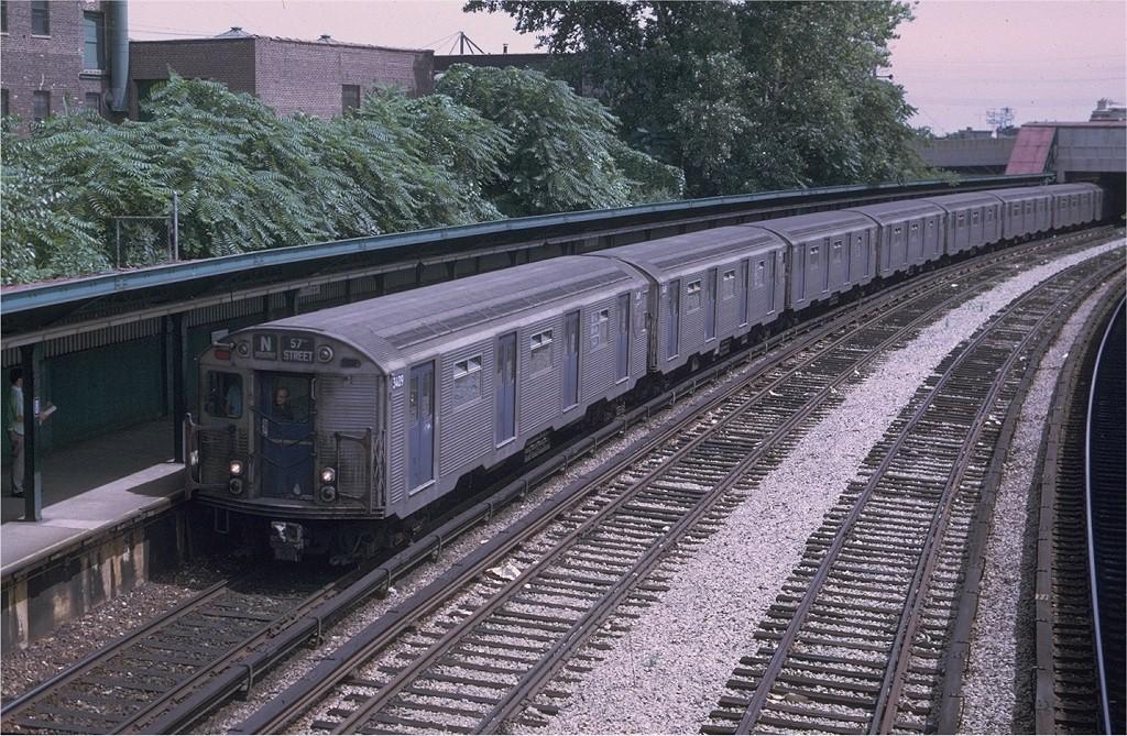 (285k, 1024x669)<br><b>Country:</b> United States<br><b>City:</b> New York<br><b>System:</b> New York City Transit<br><b>Line:</b> BMT Sea Beach Line<br><b>Location:</b> 8th Avenue <br><b>Route:</b> N<br><b>Car:</b> R-32 (Budd, 1964)  3409 <br><b>Photo by:</b> Joe Testagrose<br><b>Date:</b> 8/20/1969<br><b>Viewed (this week/total):</b> 2 / 3677