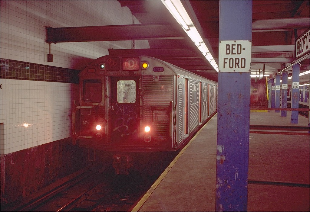 (219k, 1024x702)<br><b>Country:</b> United States<br><b>City:</b> New York<br><b>System:</b> New York City Transit<br><b>Line:</b> IND Concourse Line<br><b>Location:</b> Bedford Park Boulevard <br><b>Route:</b> D<br><b>Car:</b> R-32 (Budd, 1964)  3440 <br><b>Photo by:</b> Doug Grotjahn<br><b>Collection of:</b> Joe Testagrose<br><b>Date:</b> 11/4/1980<br><b>Viewed (this week/total):</b> 3 / 5234