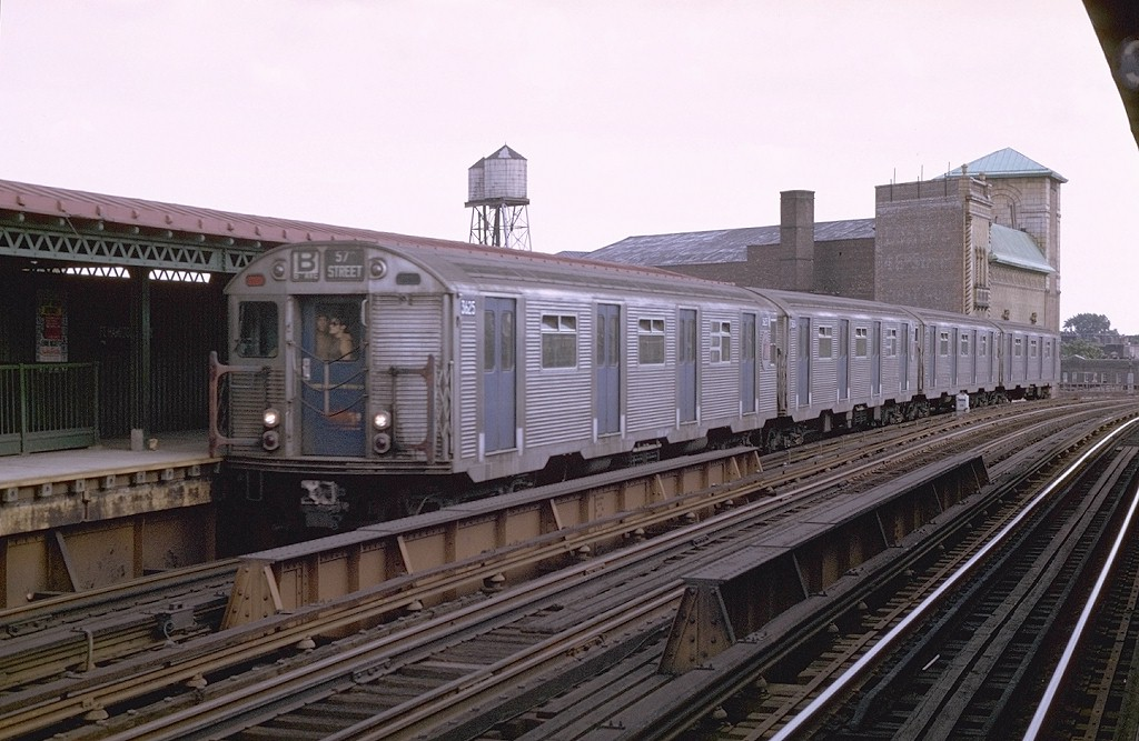 (188k, 1024x667)<br><b>Country:</b> United States<br><b>City:</b> New York<br><b>System:</b> New York City Transit<br><b>Line:</b> BMT West End Line<br><b>Location:</b> Fort Hamilton Parkway <br><b>Route:</b> B<br><b>Car:</b> R-32 (Budd, 1964)  3625 <br><b>Photo by:</b> Joe Testagrose<br><b>Date:</b> 8/10/1969<br><b>Viewed (this week/total):</b> 0 / 6190