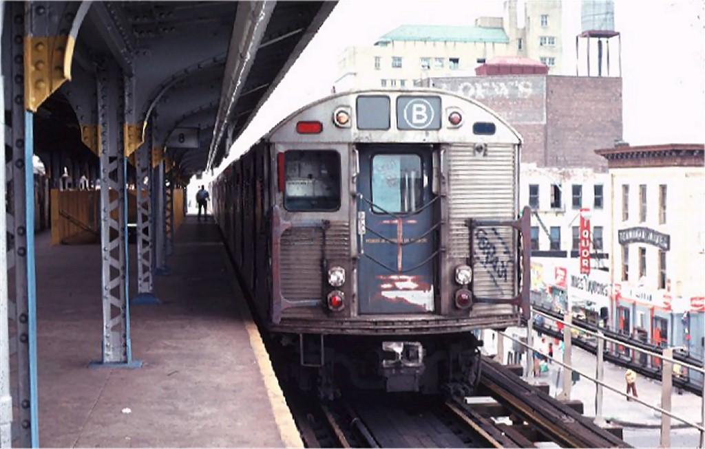 (156k, 1024x653)<br><b>Country:</b> United States<br><b>City:</b> New York<br><b>System:</b> New York City Transit<br><b>Location:</b> Coney Island/Stillwell Avenue<br><b>Route:</b> B<br><b>Car:</b> R-32 (Budd, 1964)  3638 <br><b>Photo by:</b> Ed McKernan<br><b>Collection of:</b> Joe Testagrose<br><b>Date:</b> 9/2/1974<br><b>Viewed (this week/total):</b> 3 / 6039